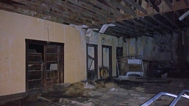 Abandoned school in Tyrone, Colorado Ghost town