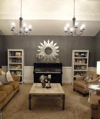 Modern Sitting Room Lighting Designs 1