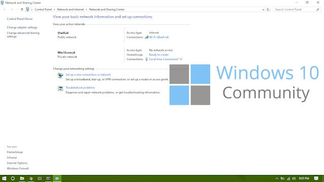 Alternatif Mobile Hostspot di Windows 10 Menggunakan Command Prompt