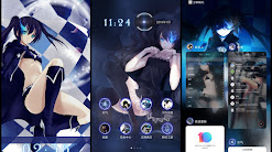 Black Rock Shooter V.1 Theme For MIUI 10
