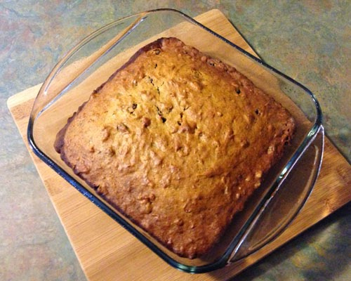 Aunt Yvonne S Almond Banana Cranberry Cake Or Loaf