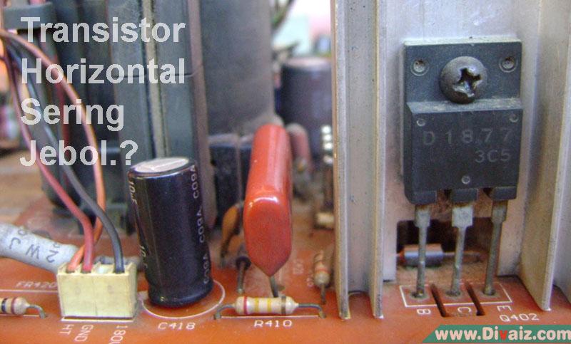 Penyebab Transistor Horizontal TV Jebol atau Rusak Terus