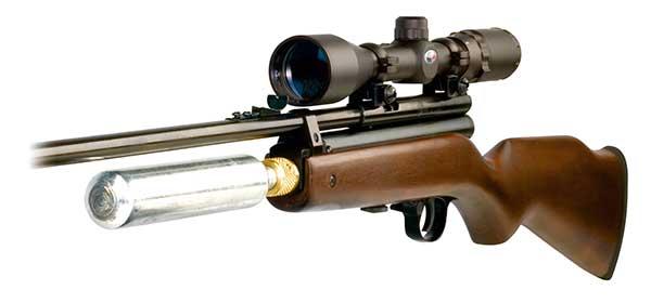 senjata air rifle laras panjang kaliber 4,5 milimeter