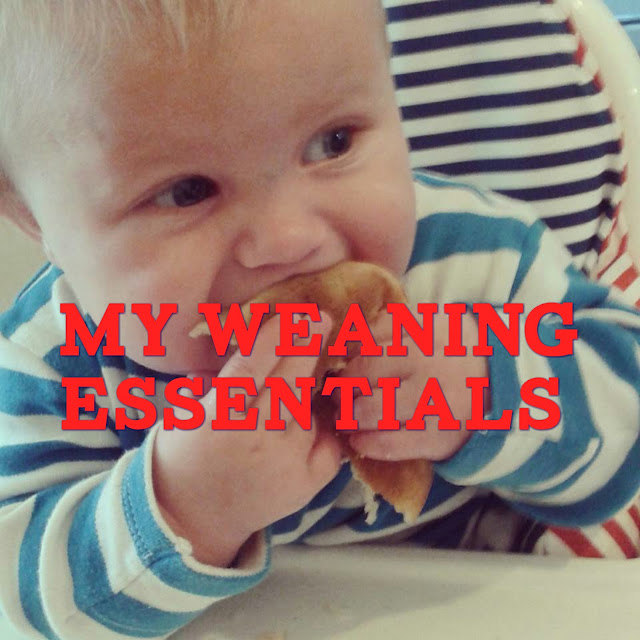My weaning essentials