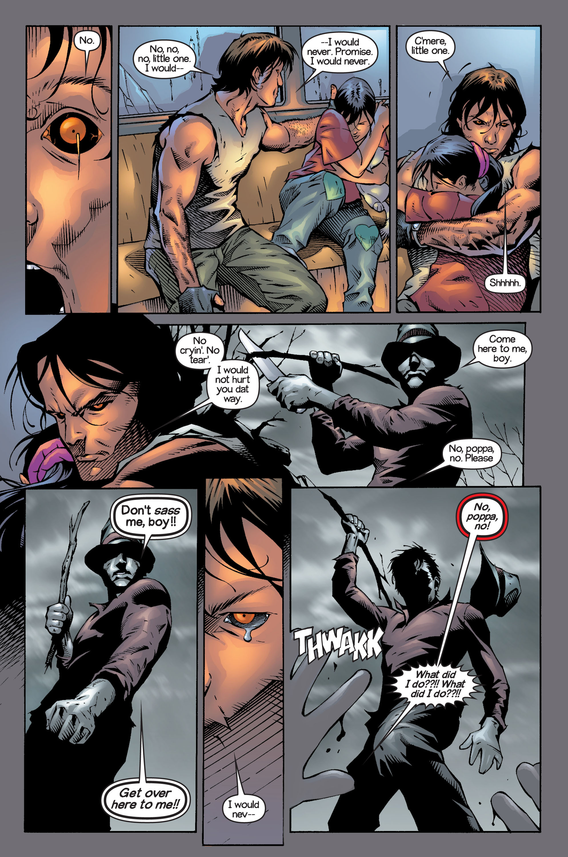 Read online Ultimate X-Men comic -  Issue #13 - 22