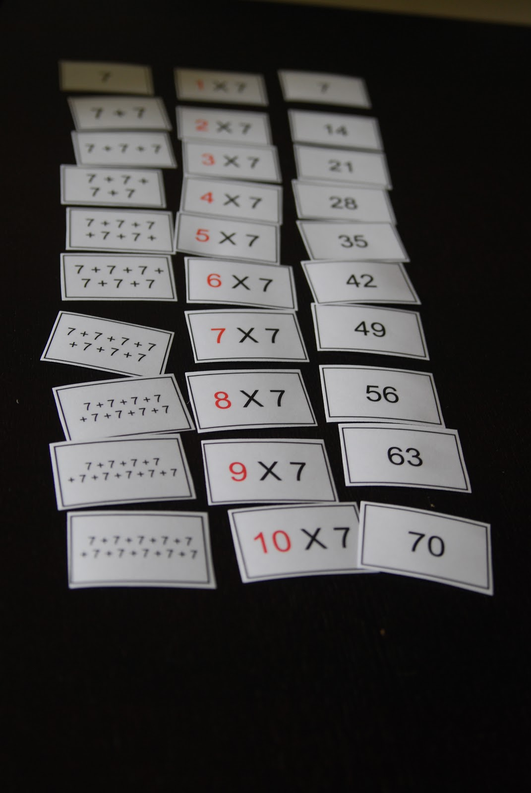 Com Product Domino Multiplication By 4s 5s 6s And 7s Images
