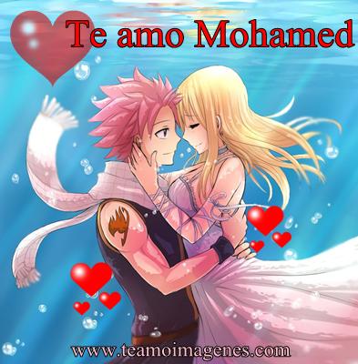 Las mejor imagen te amo mohamed, teamoimagenes.com