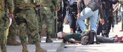 Balacera en las Choapas un detenidos y dos lesionados