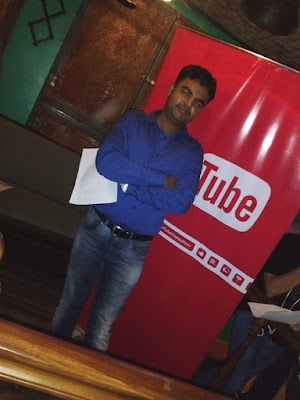 ujjwal kumar sen, youtube event, blogger, India