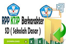 RPP KTSP SD Kelas 5 Format Words