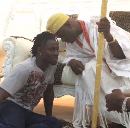 ooni of ife obafemi martins