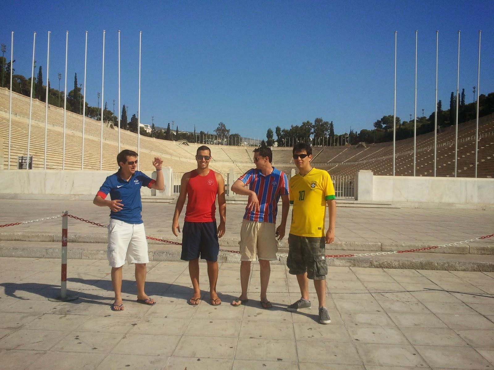 Estádio Olímpico - Atenas - Grécia