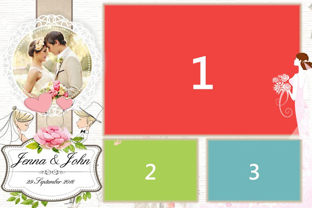2 free wedding templates for Dsrlbooth