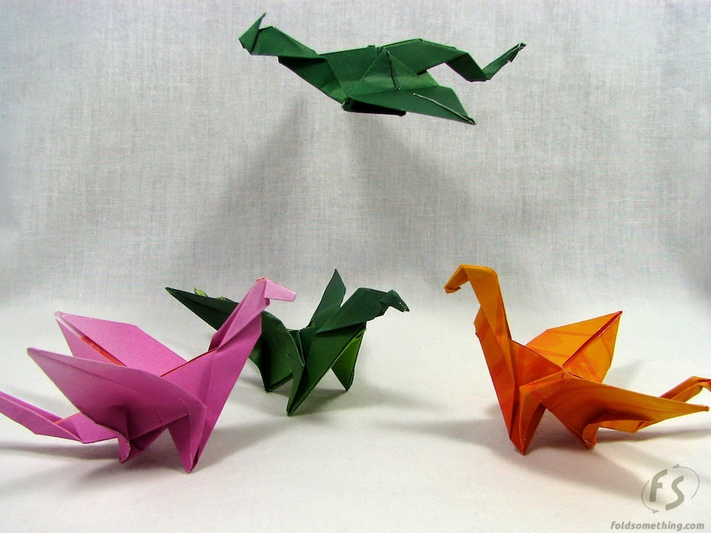 paper origami dragon easy ~ art and craft projects easy - photo#23