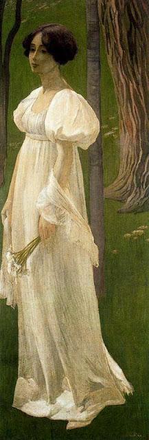 Ernest Bieler - Lady in White