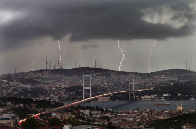 سلاح الدمار الشامل Harp وراء العواصف والزلازل الأخيرة في اسطنبول