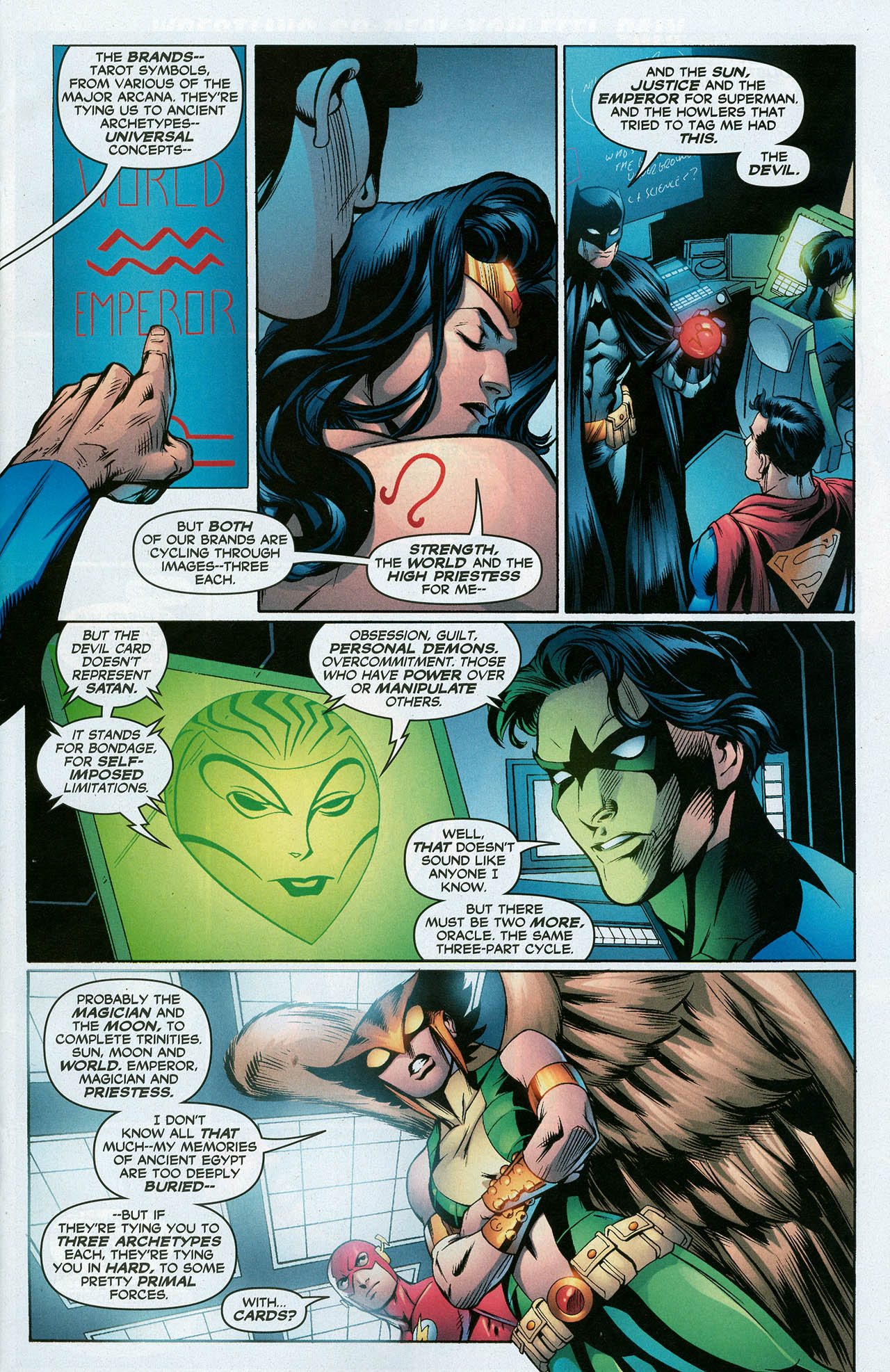 Read online Trinity (2008) comic -  Issue #15 - 7