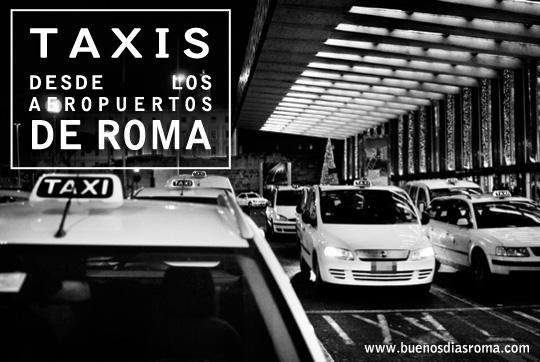 buenos días Roma - Taxis desde los aeropuertos de Roma