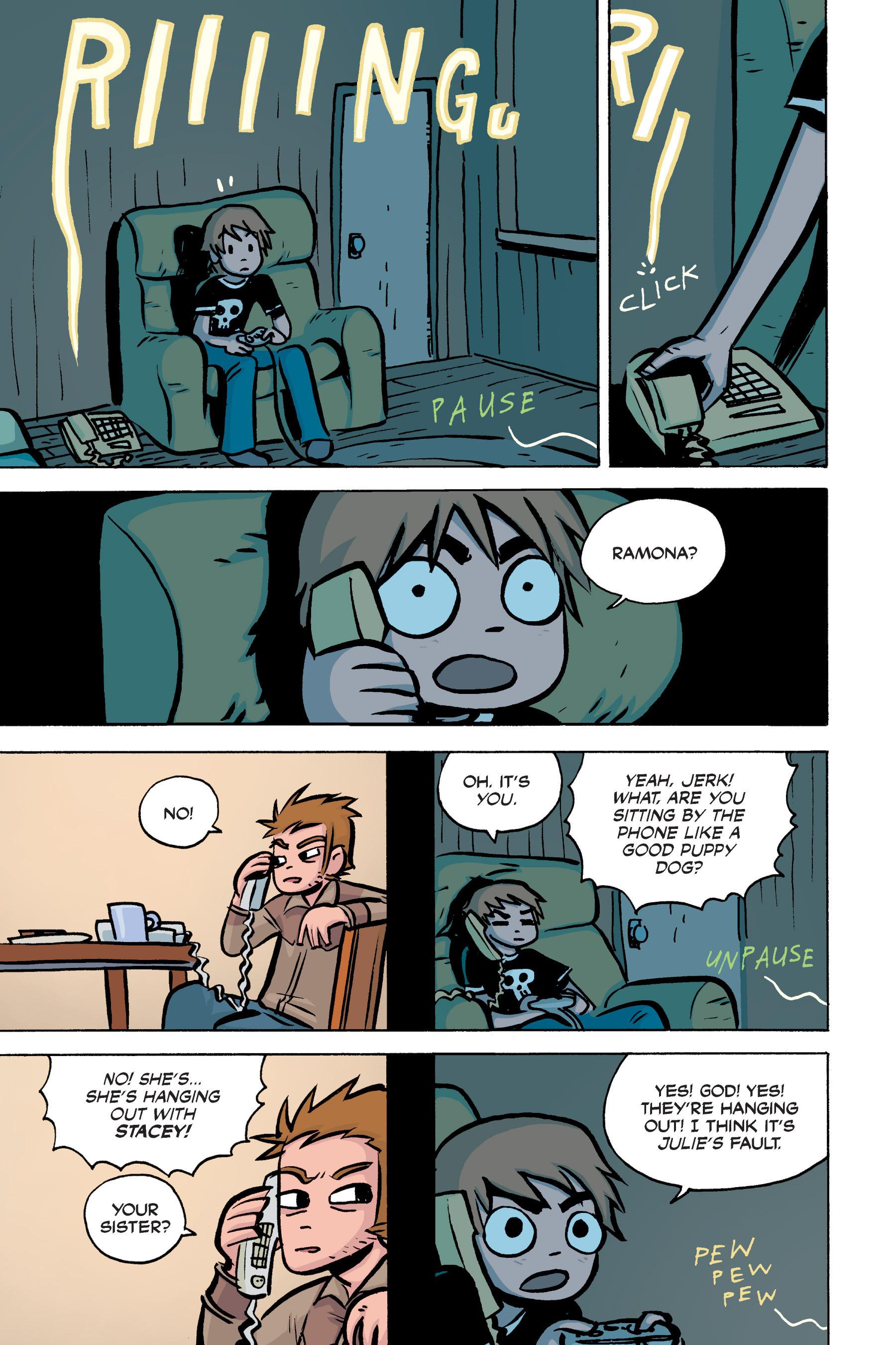 Read online Scott Pilgrim comic -  Issue #2 - 128