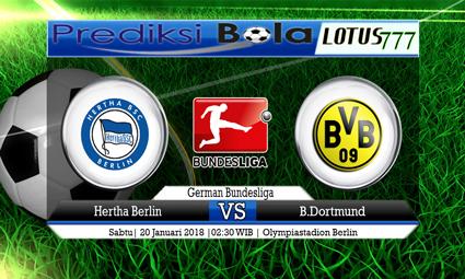 PREDIKSI SKOR Hertha Berlin vs B.Dortmund 20 Januari 2018