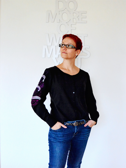 Me Made Mittwoch: Aster Blouse von Colette Patterns @frauvau.blogspot.de