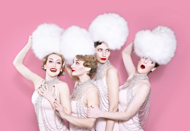 Les Sea Girls spectacle music-hall chansons tournée revue Trianon Paris