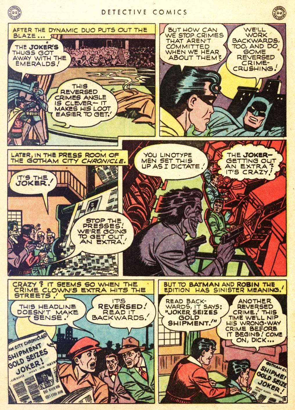 Read online Detective Comics (1937) comic -  Issue #128 - 10