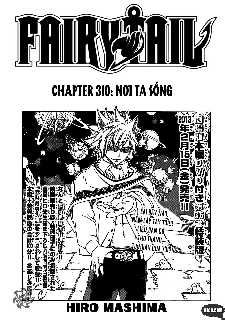 Fairy Tail chap 310 trang 1