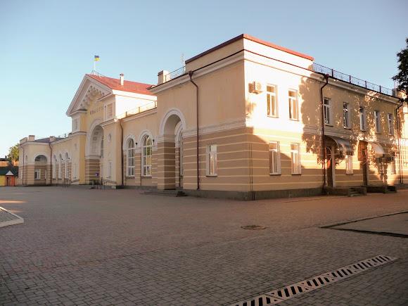 Конотоп. Сумская область. Железнодорожный вокзал