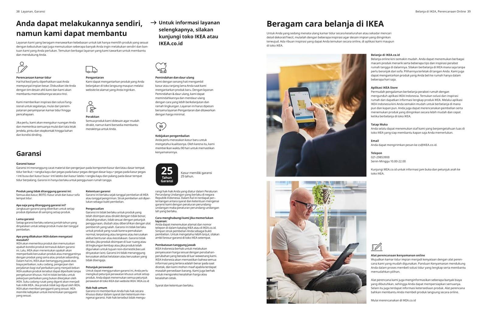 KATALOG KAMAR TIDUR HARGA PROMO IKEA TERBARU 2020