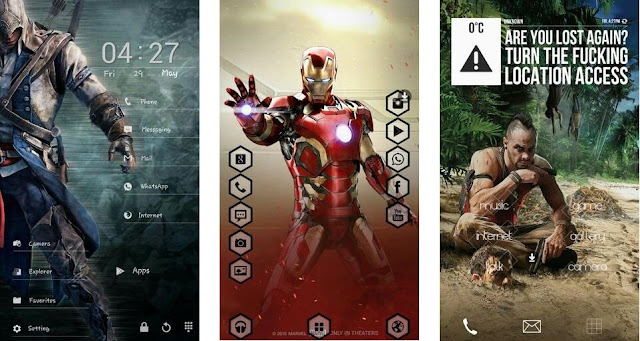 free Movie theme for Buzz launcher