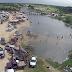 Alto do Rodrigues - Vai ou raxa com sol ou chuva, assim foi o dia de carnaval dos alto-rodriguenses no rio piranhas