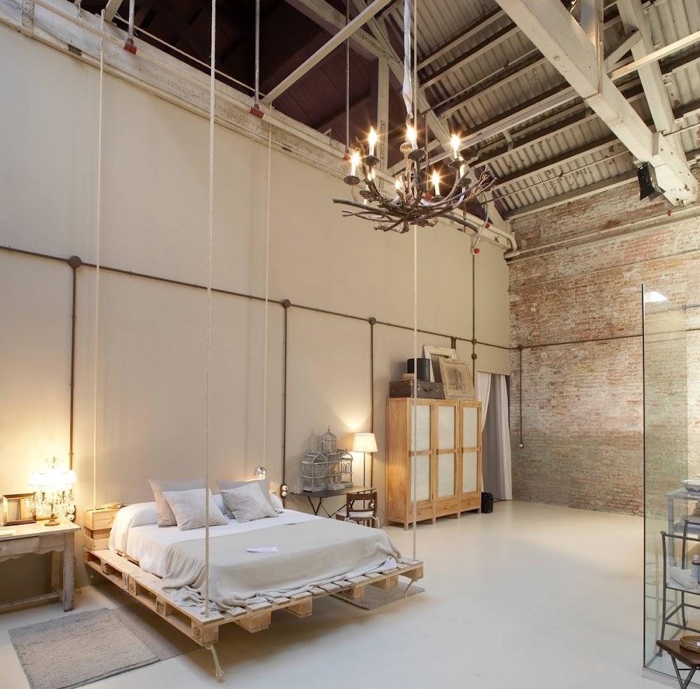 chandelier-hanging-industrial-beds
