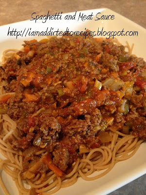 Spaghetti and Dawn's Meat Sauce | Addicted to Recipes