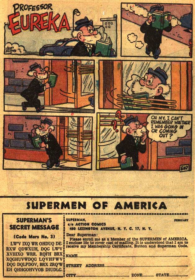 Read online Action Comics (1938) comic -  Issue #201 - 33