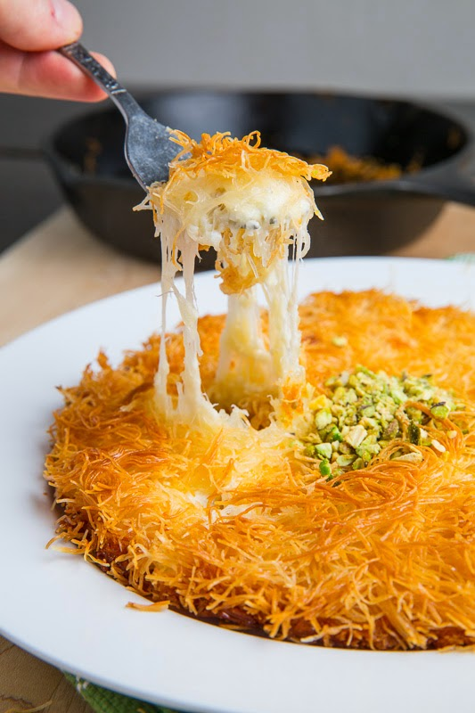 Künefe  (Sweet Cheese Pastry)