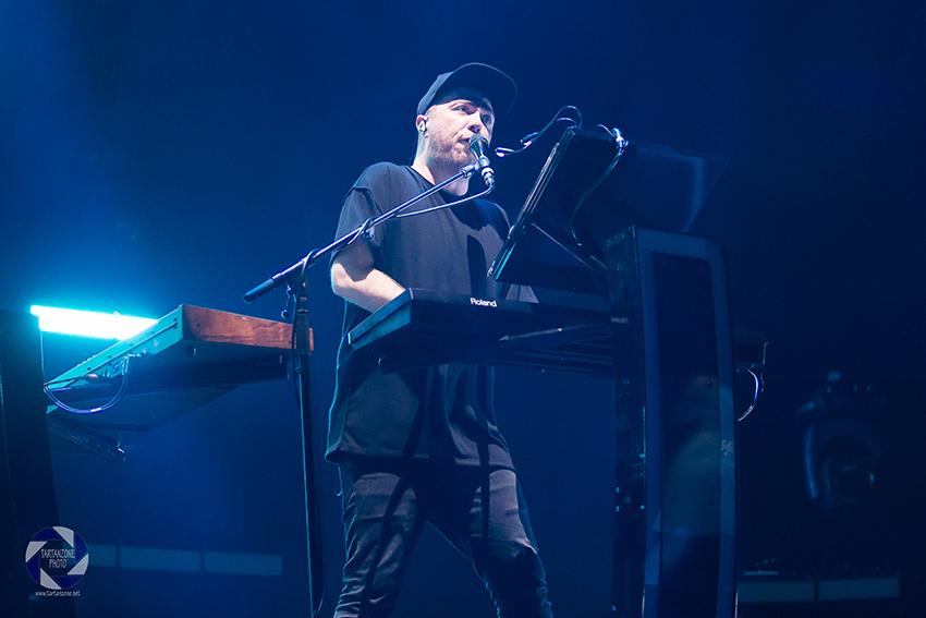 Martin Doherty Chvrches Live Glasgow Hydro