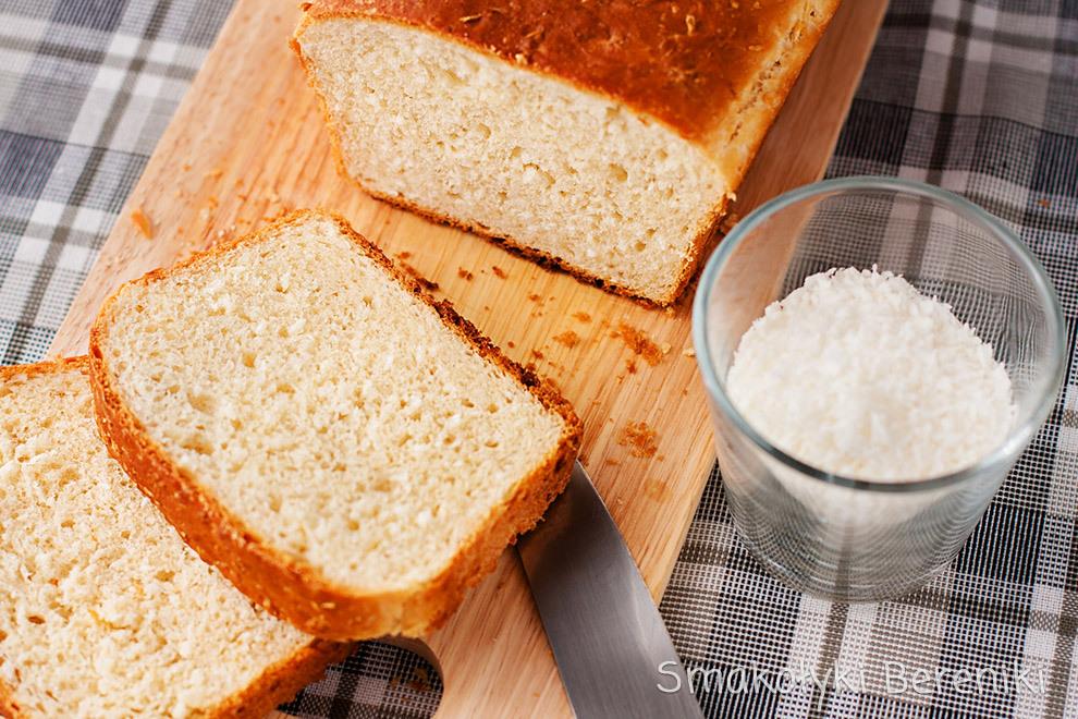 Pszenny chleb kokosowy