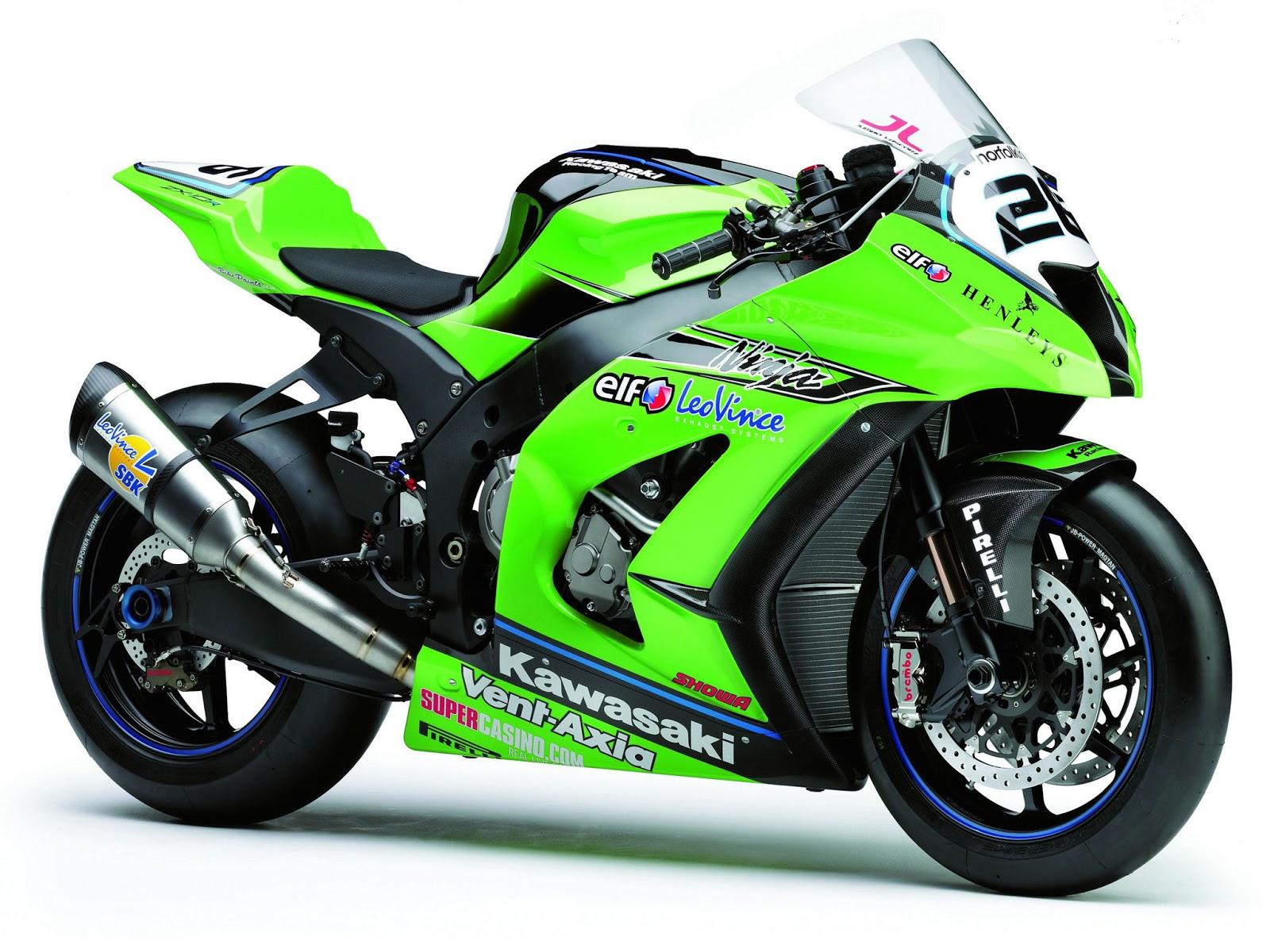 Kawasaki Ninja Race Bikes