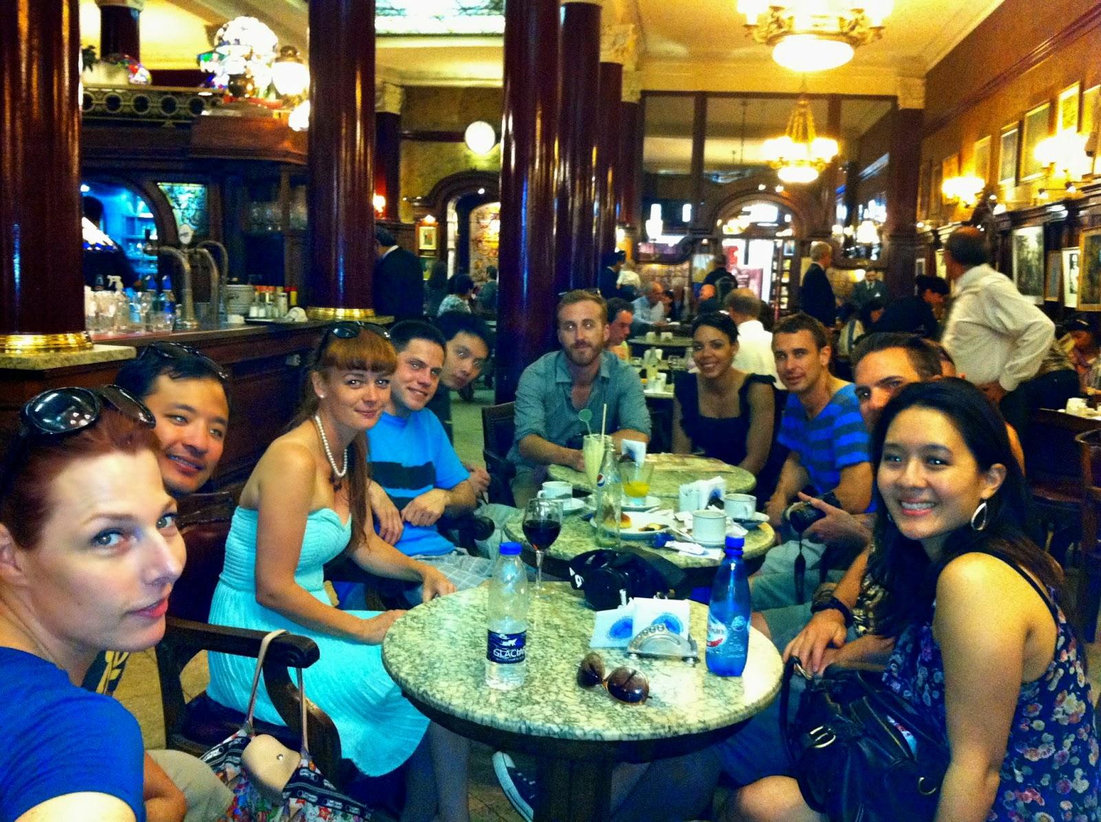 Wanderlust Chloe - Chloe Gunning - Cafe Tortoni Buenos Aires
