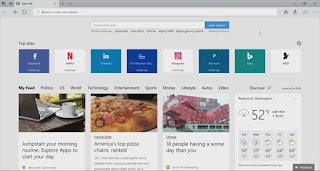 Microsoft Edge- hindi pe bindi