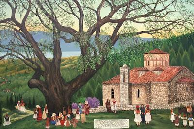 Μεσολόγγι Πίνακας ζωγραφικής δια χειρός Ιωάννας Ξέρας