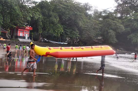 WATERSPORT PANGANDARAN | Wisata Pantai Batu Karas Pangandaran