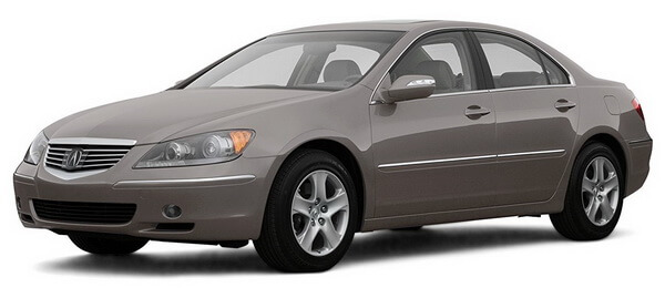 2007 Acura RL Prices, Reviews and Pictures