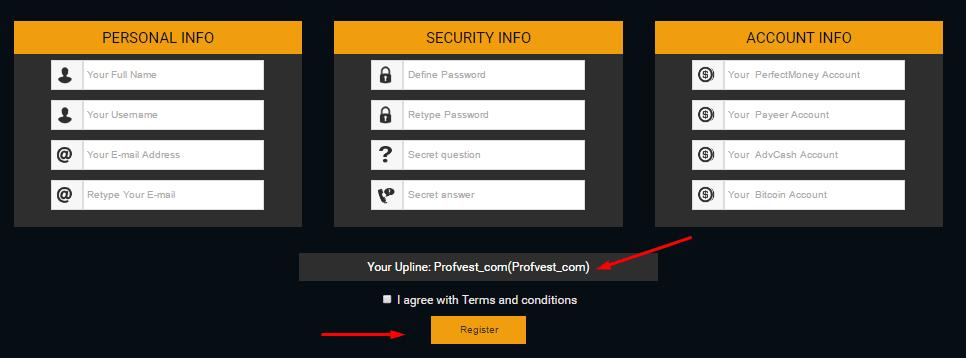 Регистрация в CoinSnack 2