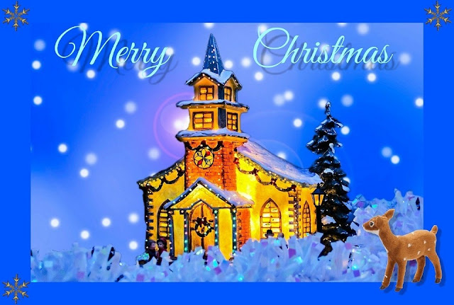 Happy Christmas Animated Pictures with Greetings