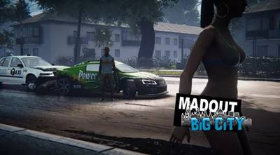 MadOut2 BigCityOnline v5.6 MOD Apk Terbaru v5.6 (Unlimited Money) + OBB DATA