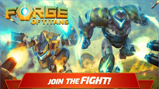 Game Forge of Titans: Mech Wars App