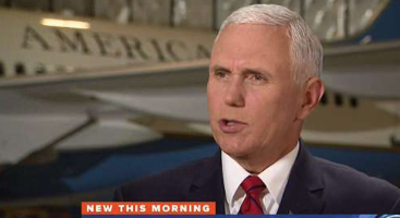 'I think it's time to wrap it up': Pence tells Mueller he's had a year to run his Russia probe but won't say it's a 'hoax'
