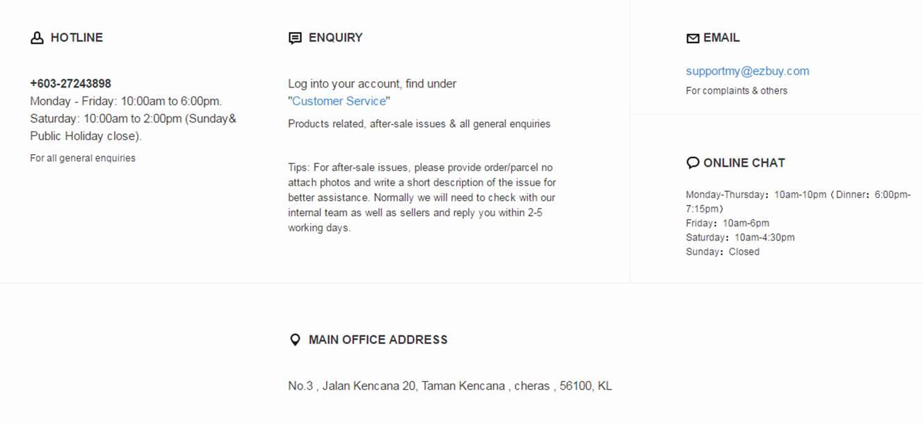 info portal ezbuy